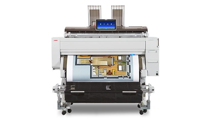 Lanier MPCW22012SP wide format plotter